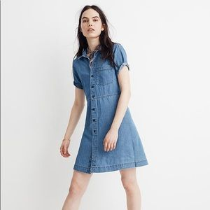 Madewell denim mini dress